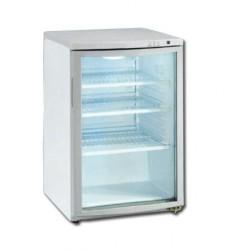 Mini-vitrine de comptoir réfrigérée 112L