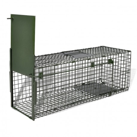 Cage piège pour animaux une entrée anti rongeur