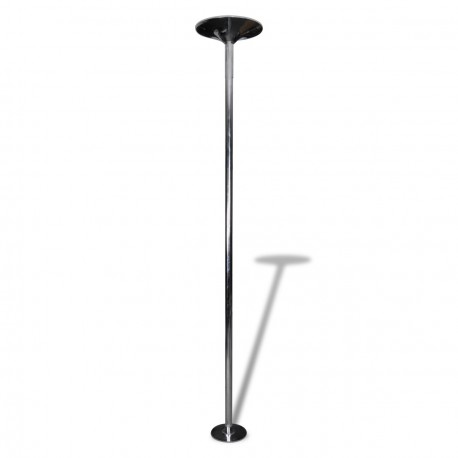 Barre de pole dance professionnelle inox 45mm de diamètre