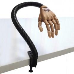 Main manucure d'entraînement articulée avec 100 ongles