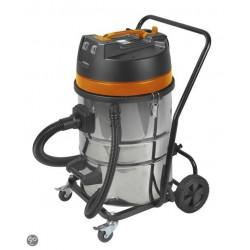 Aspirateur industriel eau et poussière 2000W 70L châssis métalique