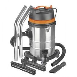 Aspirateur industriel eau et poussière 3000W 80L châssis métalique