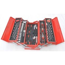 Coffre à outils composé de 66 pièces