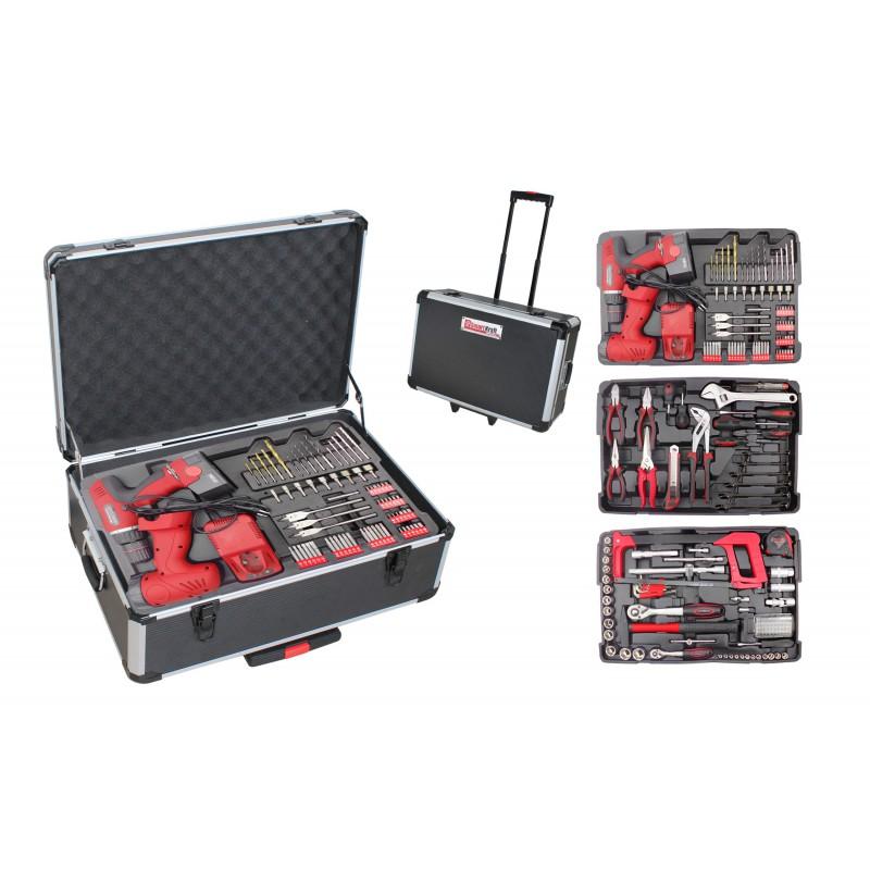 valise outils compl te 259 outils. Black Bedroom Furniture Sets. Home Design Ideas