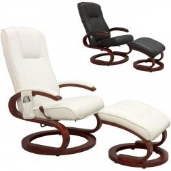 Fauteuil de massage relaxation blanc Stilista S-Design