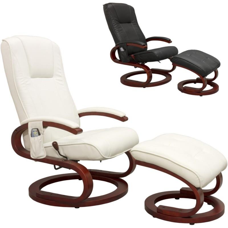 fauteuil de massage relaxation blanc stilista s design. Black Bedroom Furniture Sets. Home Design Ideas