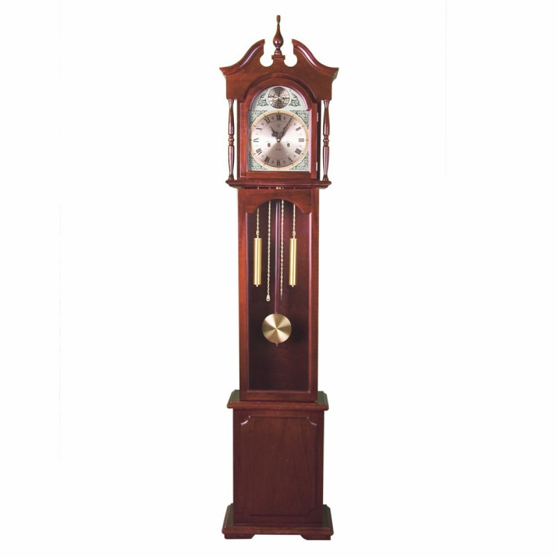 pendule murale ancienne sur pied europe mahagoni 194cm. Black Bedroom Furniture Sets. Home Design Ideas