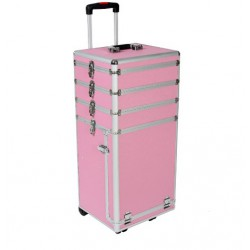Valise trolley coiffure esthétique maquillage manucure