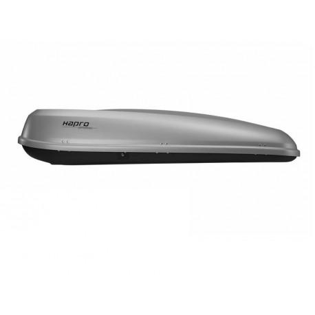 Coffre de toit 500L gris argenté Hapro Probox 560