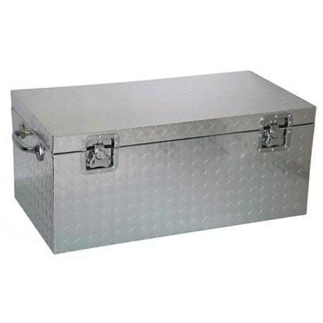 Malle en aluminium 89x48x38cm | Acheter malle métal