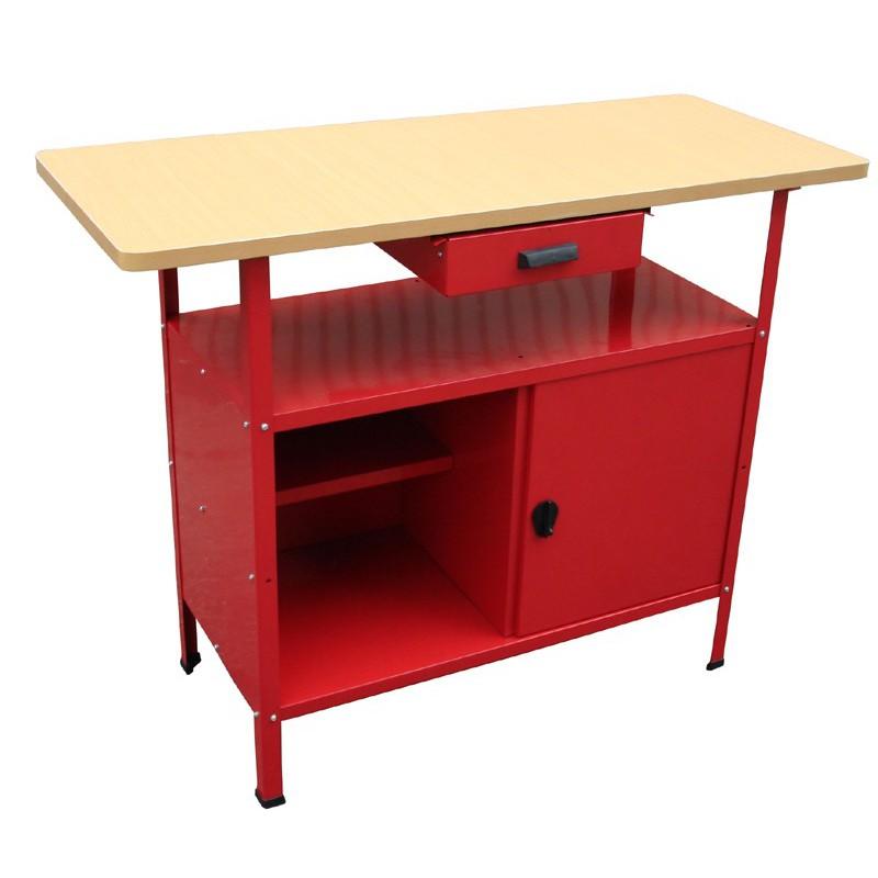 etabli d 39 atelier 115x48x90cm acheter tabli de bricolage. Black Bedroom Furniture Sets. Home Design Ideas