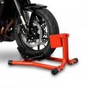 Bloque roue moto - roue avant