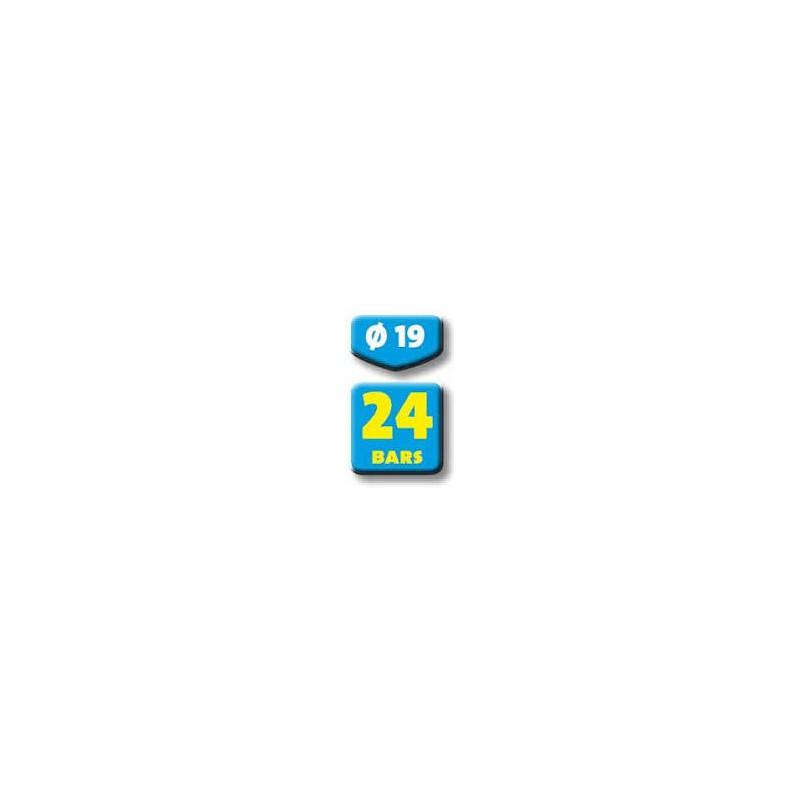 Tuyau d 39 arrosage 25m antivrille jaune 25mm - Tuyau arrosage 25mm ...