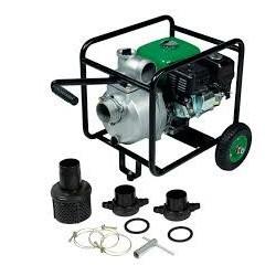 Motopompe thermique 60m3/h 163cc 4,7HP sur chariot