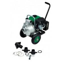 Motopompe thermique 24m3/h 87cc 2,4HP sur chariot