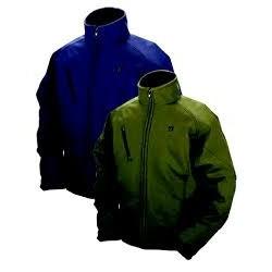 Veste chauffante à batterie taille XXL couleur bleue