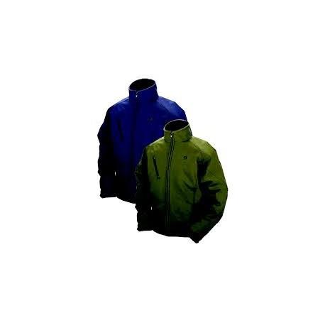 Veste chauffante à batterie taille XL couleur verte