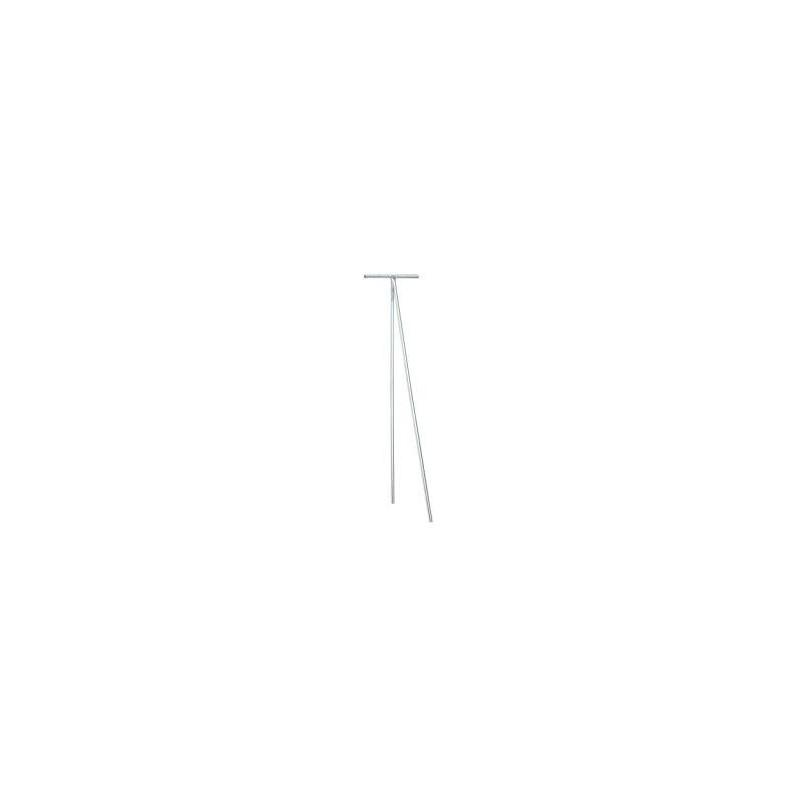 etendoir linge ext rieur zingu hauteur 2m15. Black Bedroom Furniture Sets. Home Design Ideas