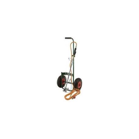 Kit désherbeur thermique professionnel avec chariot + accessoires