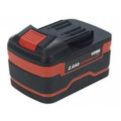 Batterie Li-ion 18 volt 2800mA pour clé à choc PRLB2600/1