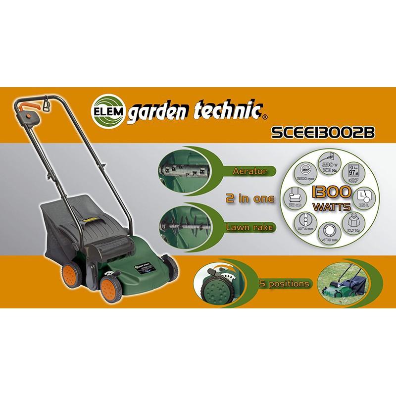 Scarificateur lectrique mousseur scarificateur pelouse for Prix de pelouse
