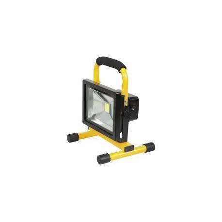 projecteur led rechargeable 20w batterie li ion. Black Bedroom Furniture Sets. Home Design Ideas