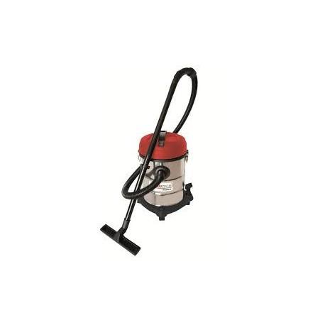 Aspirateur eau et poussières inox 25L 1200W