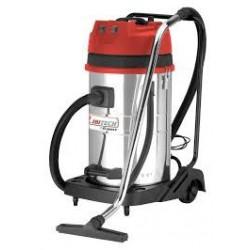 Aspirateur eau et poussière 60L 2x1200W