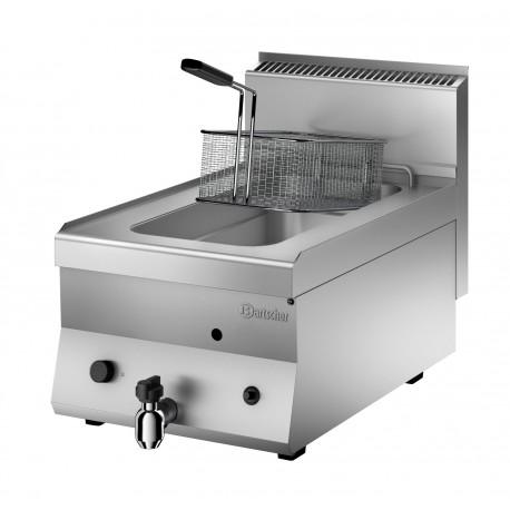 Friteuse à gaz professionnelle 8L – Bartscher