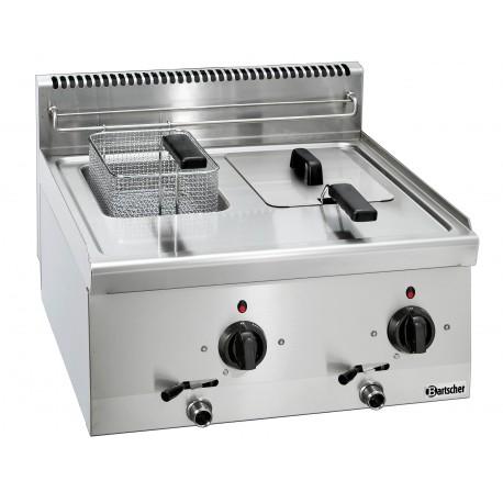 Friteuse électrique professionnelle 2x6L - Bartscher