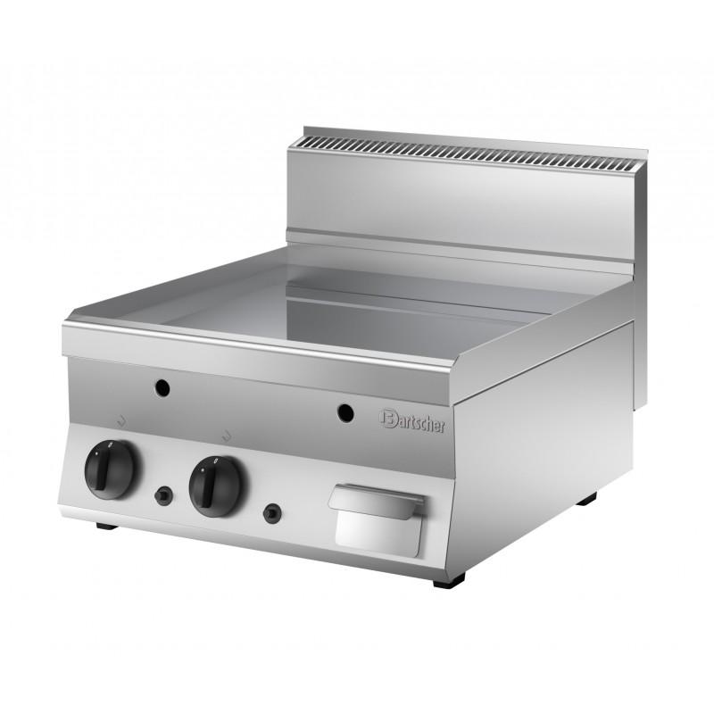 Plancha lectrique gaz professionnelle 600x650mm bartscher for Cuisine gaz ou electrique