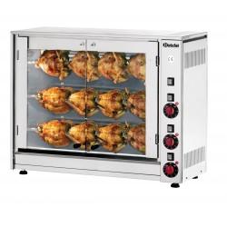 Rôtissoire 12 poulets professionnelle - Bartscher