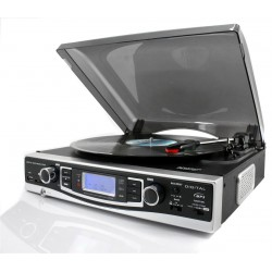 Platine vinyle encodeur mp3 USB/SD et radio
