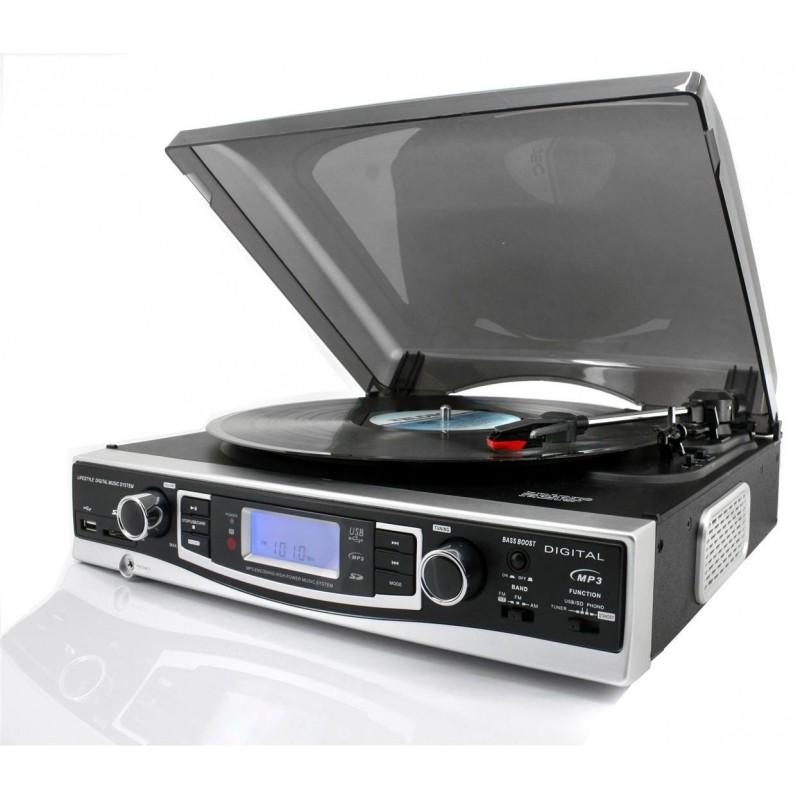 platine vinyle encodeur mp3 usb sd et radio. Black Bedroom Furniture Sets. Home Design Ideas