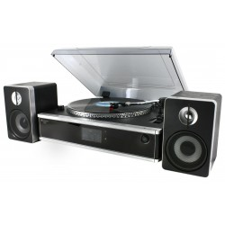 Platine vinyle encodeur MP3 CD USB/SD et radio