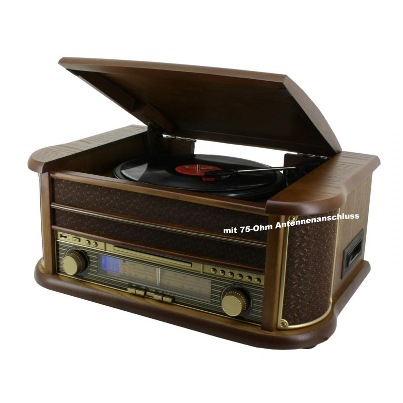 cha ne hifi r tro encodage usb cd platine vinyle cassette radio. Black Bedroom Furniture Sets. Home Design Ideas