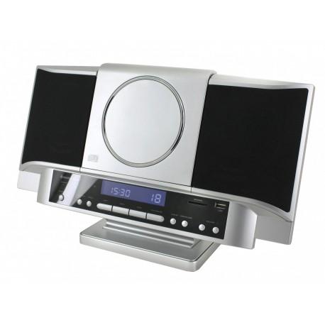 Chaîne hifi murale USB, SD/MMC, CD/MP3 et radio
