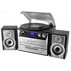 Chaîne hifi avec platine vinyle encodage USB/SD CD radio