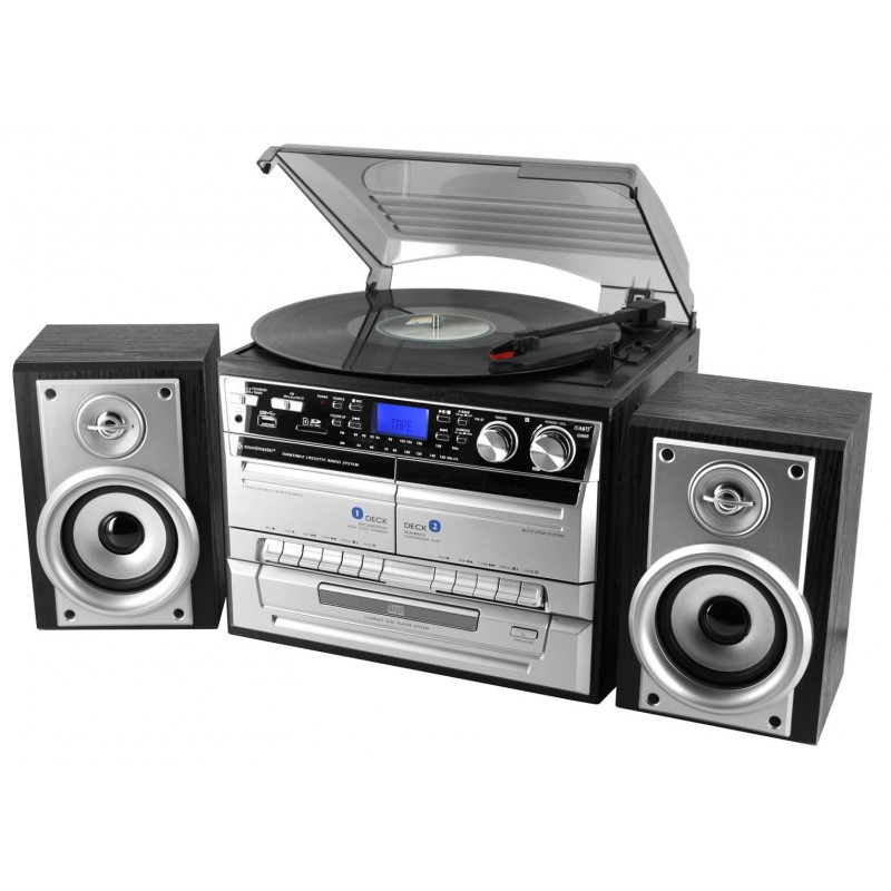 cha ne hifi avec platine vinyle encodage usb sd cd radio. Black Bedroom Furniture Sets. Home Design Ideas