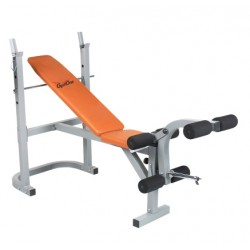 Banc de musculation multifonction PRO3000 orange