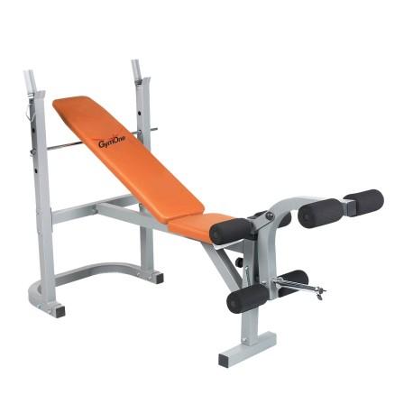 Banc de musculation multifonction pro3000 orange - Banc musculation professionnel ...