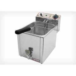 Friteuse professionnelle électrique 8L inox - Beckers FR 8 LT