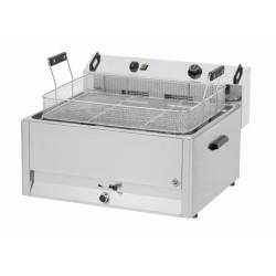 Friteuse à beignets professionnelle électrique 16L - Beckers FPR 16 LT