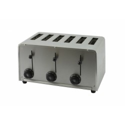 Toaster professionnel 6 tranches - Beckers AU 6