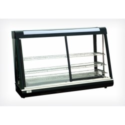 Vitrine chauffante 895mm portes coulissantes - Beckers R 601
