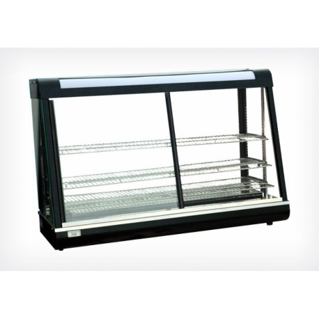Vitrine chauffante 670mm portes coulissantes - Beckers R 602