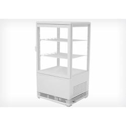 Vitrine réfrigérée verticale 80cm blanche