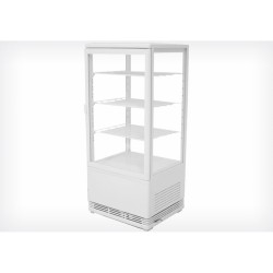 Vitrine réfrigérée verticale 95cm blanche