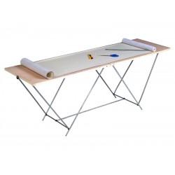 Table à tapisser pas cher 2m pliable