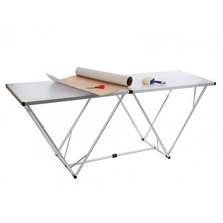 Table à tapisser et table de camping en alu 2m